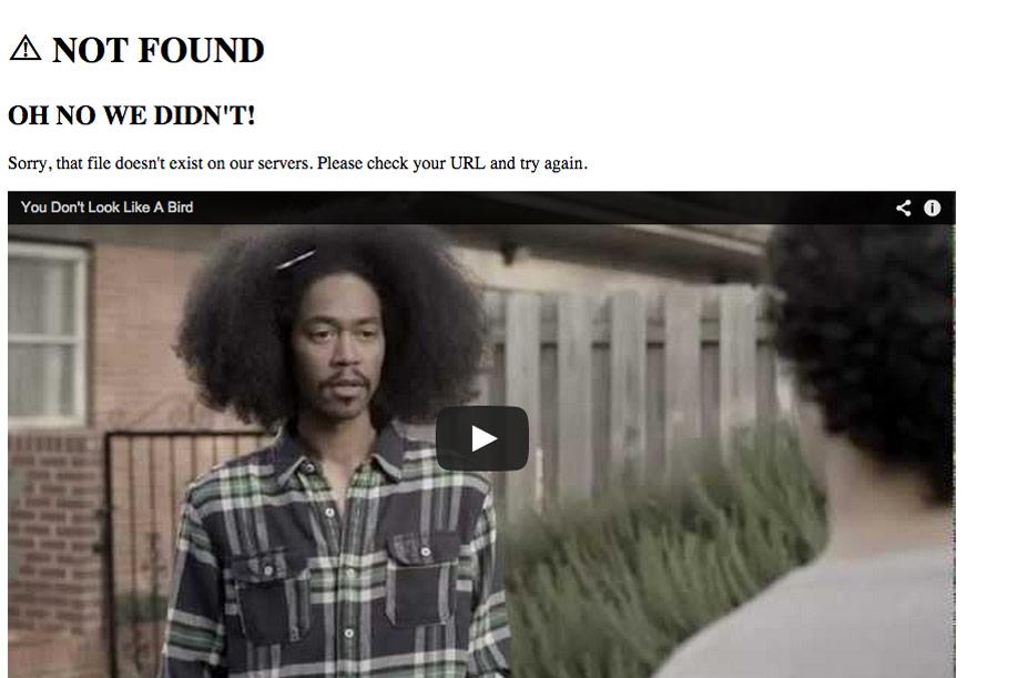 Sheetz 404 Error Page
